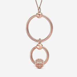 Pandora Rose O Pendant Set